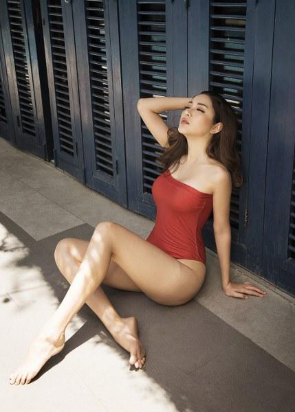 Á hậu Yan My khoe 3 vòng nóng bỏng với bikini - Hình 7