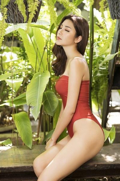Á hậu Yan My khoe 3 vòng nóng bỏng với bikini - Hình 4