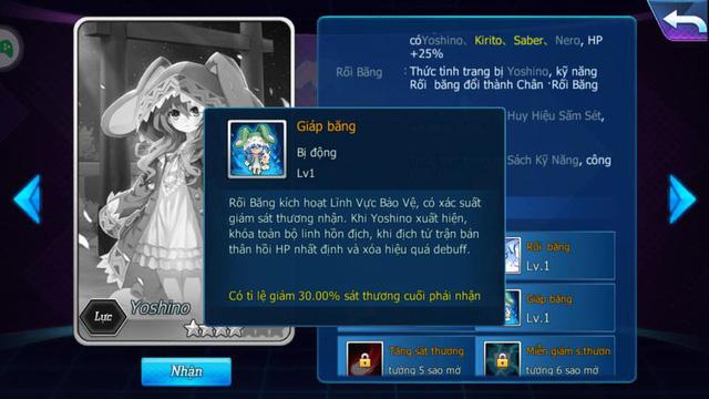 Sở hữu nội tại khóa linh hồn địch, Yoshino khiến 500 anh em Nữ Vương