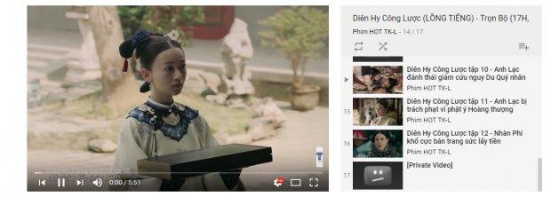 Đến lượt Phù Dao bị xóa khỏi kênh Youtube của đơn vị giữ bản quyền Diên Hi công lược - Hình 5