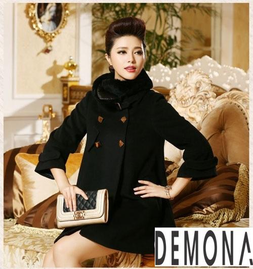12 Kiểu áo khoác dạ nữ dáng chữ A đẹp đông 2018 - 2018 sành điệu - Hình 5