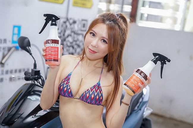 Đứng hình trước cảnh người đẹp diện bikini rửa xe - Hình 6
