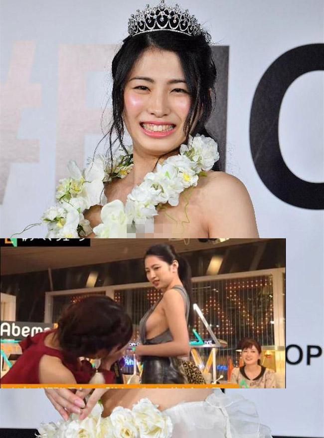 2 mẫu Nhật nóng bỏng vô tư làm điều xấu hổ trên truyền hình - Hình 11