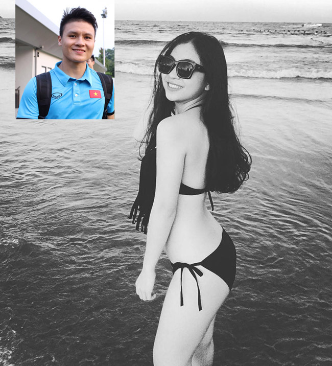 Bạn gái Văn Toàn, Văn Thanh U23 Việt Nam đọ độ hot khi mặc áo tắm - Hình 13