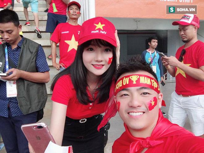 Nữ fan girl Việt xinh đẹp gây sốt mạng Hàn Quốc - Hình 2