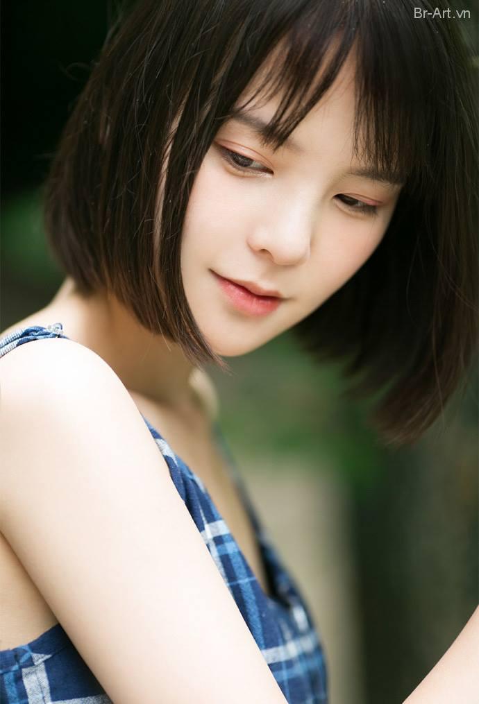 Nét tự nhiên và gương mặt thanh thoát, thánh thiện của em gái Đài Loan - Hình 5