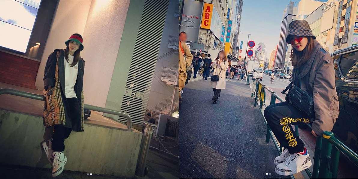 Sandara Park (2NE1) - Mỹ nhân thời trang đường phố Hypebeast không đụng hàng của Kpop - Hình 6