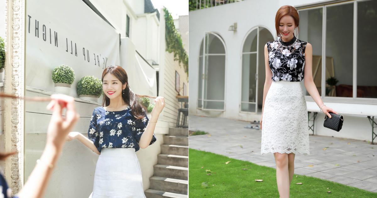 Có thể nói chân váy trắng là một trong những item thời trang xuất hiện đã  rất lâu nhưng chưa bao giờ lỗi mốt.