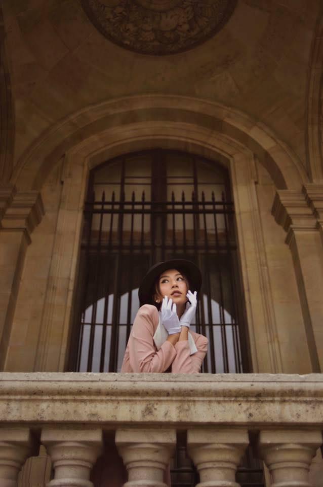 Phí Quỳnh Anh, người mẫu khuôn mặt đẹp như tây - Hình 1