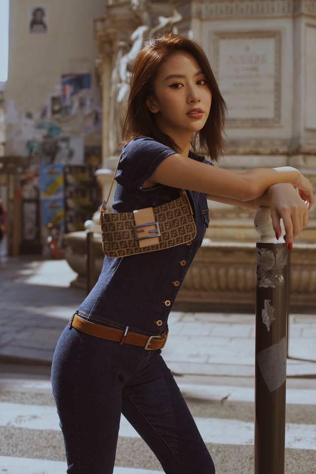 Phí Quỳnh Anh, người mẫu khuôn mặt đẹp như tây - Hình 4