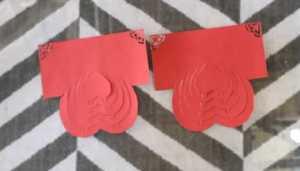 Cách làm thiệp có hình trái tim 3D bên trong xinh xắn - Hình 3