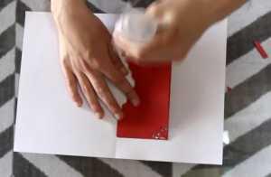 Cách làm thiệp có hình trái tim 3D bên trong xinh xắn - Hình 6