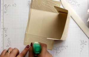 Cách làm túi quà độc đáo bằng giấy - Hình 10