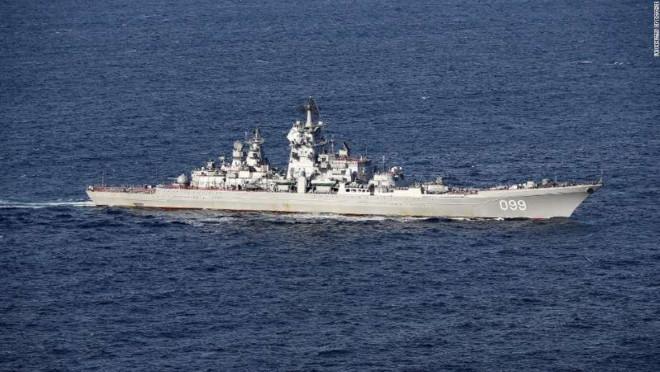 Lầu Năm Góc lạnh người tàu chiến Nga sát sườn Syria - Hình 1
