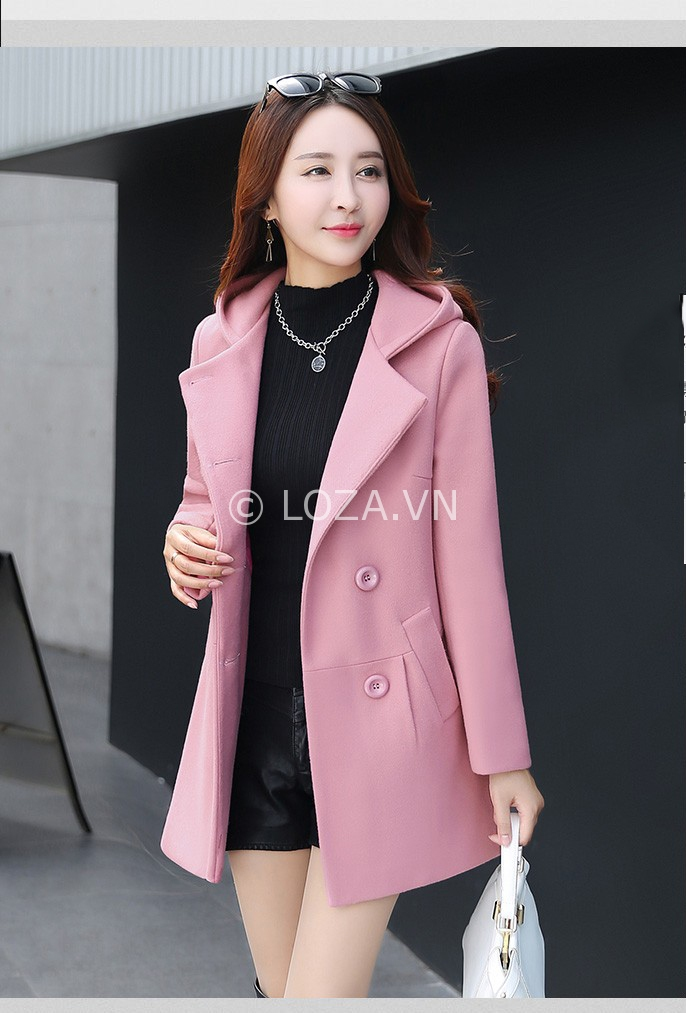 Những Kiểu áo Khoác Nữ Có Mũ đẹp Mùa đông 2018 Thời Trang