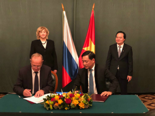 Văn Lang liên kết Đại học Nga nâng cao chất lượng đào tạo - Hình 1