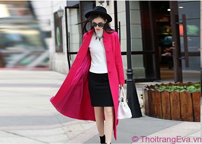 Áo khoác gam màu nóng - item gây sốt thị trường thời trang Đông 2018 - Hình 1