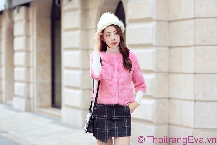 Bộ sưu tập những mẫu áo khoác nữ màu hồng tuyệt đẹp - Hình 1
