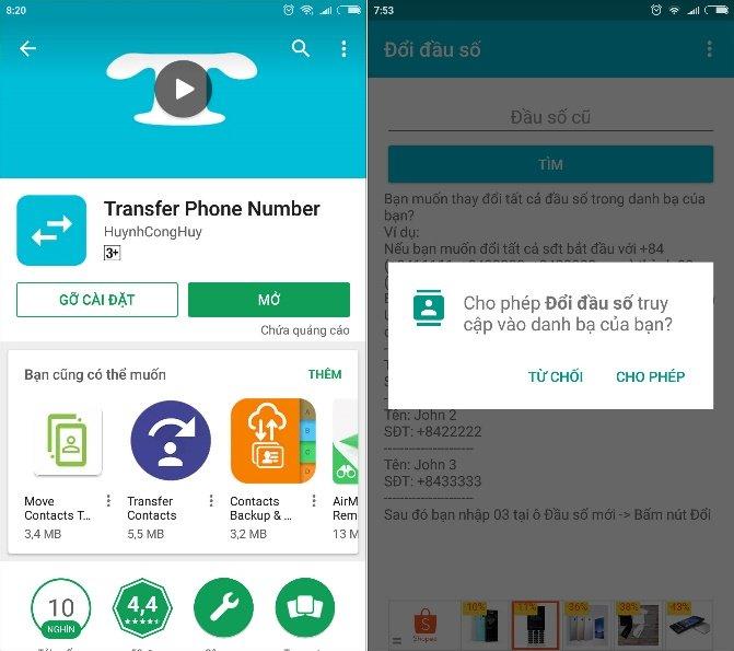 Cách chuyển danh bạ điện thoại 11 số về 10 số trên Android và iOS - Hình 1