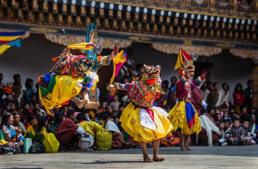 Mê đắm vẻ đẹp đa sắc của Bhutan qua những tấm ảnh - Hình 2