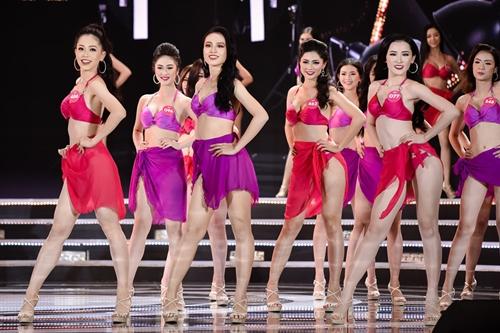 Ngắm vẻ đẹp hình thể của Top 25 Hoa hậu Việt Nam trong màn trình diễn bikini - Người đẹp - #HotGirl