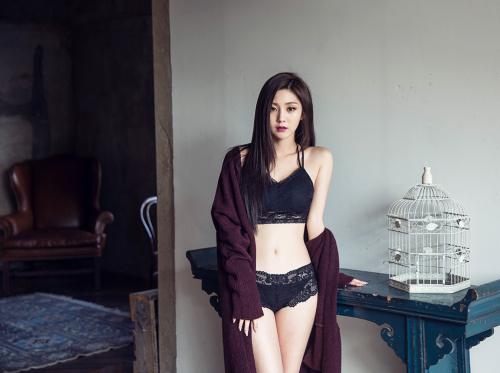 Cùng chiêm ngưỡng người đẹp Hàn Quốc khoe chân dài, 3 vòng cực chuẩn - Hình 1