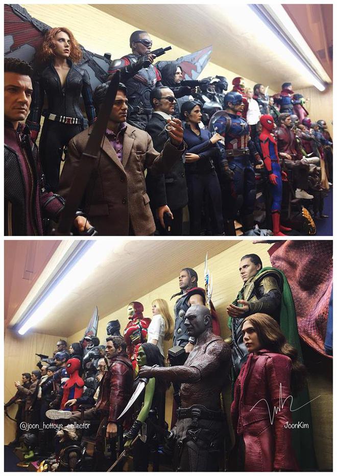 Cư dân mạng ghen tị đỏ mắt với bộ sưu tập mô hình siêu anh hùng của 9X Hà Nội - Hình 3