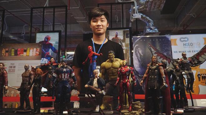 Cư dân mạng ghen tị đỏ mắt với bộ sưu tập mô hình siêu anh hùng của 9X Hà Nội - Hình 4