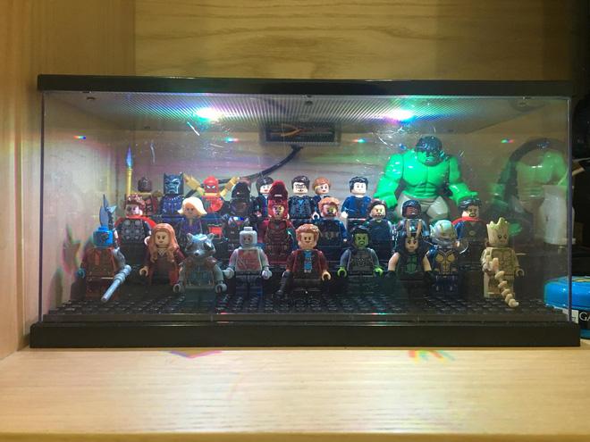 Cư dân mạng ghen tị đỏ mắt với bộ sưu tập mô hình siêu anh hùng của 9X Hà Nội - Hình 12