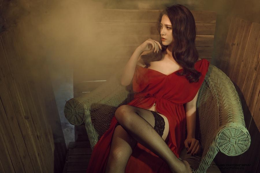 Vẻ đẹp bốc lửa không thể cưỡng nổi của Hot girl Linh Ruby - Hình 23