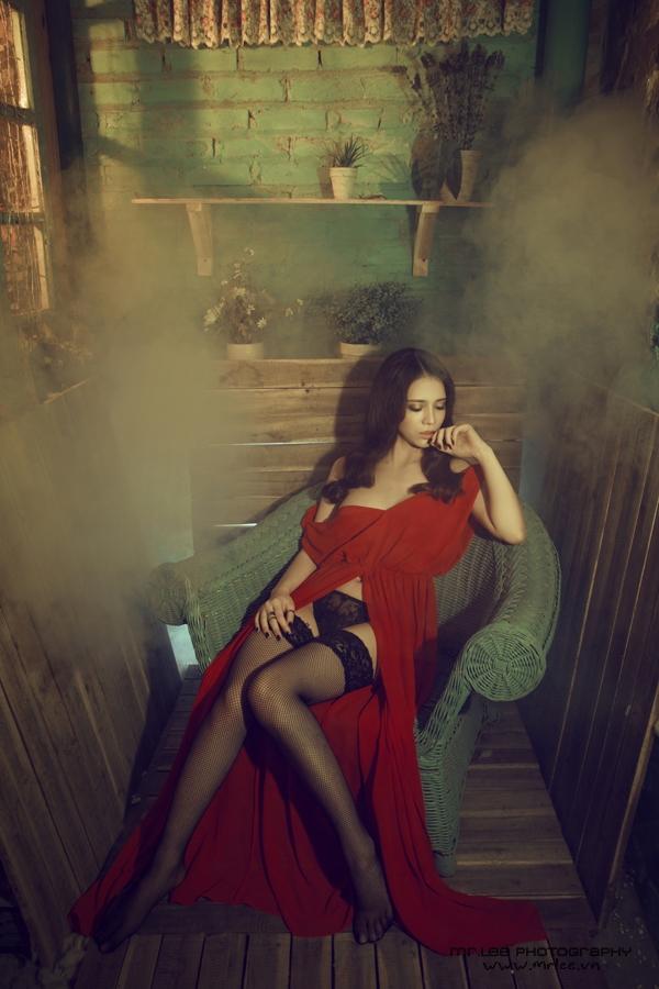 Vẻ đẹp bốc lửa không thể cưỡng nổi của Hot girl Linh Ruby - Hình 24