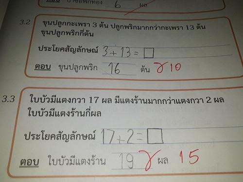 Cô giáo Thái Lan bị cười nhạo vì tính 12 8=4 - Hình 2