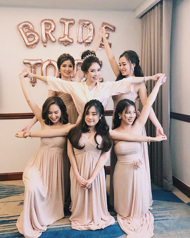 Loá mắt với biệt đội phù dâu toàn hot girl xinh đẹp có cả An Japan, Nguyễn Lê Vi - Hình 2
