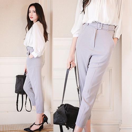 Muôn kiểu quần tây công sở nữ lưng cao cho bạn gái - Thời trang - Việt Giải  Trí