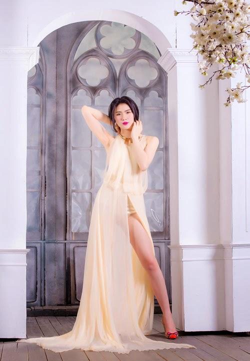 Ngắm girl xinh Huyền Thư siêu sexy với bikini đón noel - Hình 9