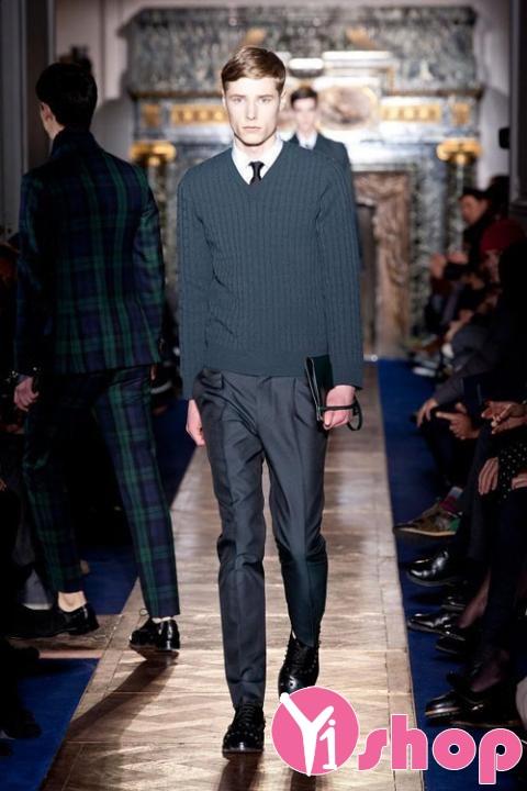 Áo len nam cực đẹp cho chàng trai đa phong cách thời trang hiện đại năng động cá tính trong mọi hoàn cảnh mùa thu đông năm nay - Hình 1