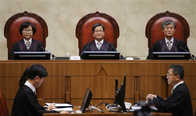 Hàn Quốc: Nhật Bản cần có thái độ khiêm nhường hơn với quá khứ - Hình 1