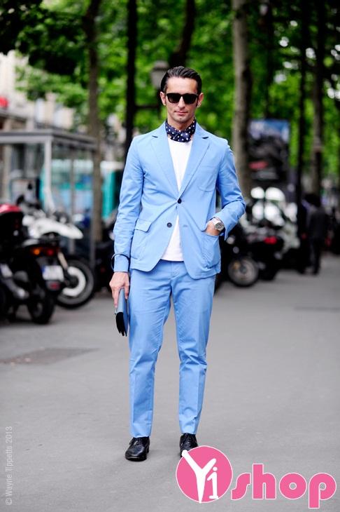 Những bộ trang phục sắc màu thời trang Thu-Đông cho các chàng street style tự tin xuống phố - Hình 1