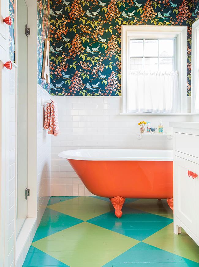 Ngôi nhà đầy màu sắc trang trí theo phong cách Bohemian độc đáo đầy tươi trẻ - Hình 11