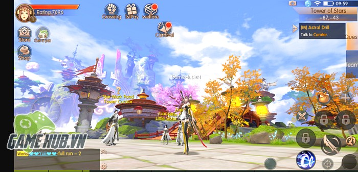 Tải ngay Novoland: Cửu Châu Thiên Không Thành - MMORPG siêu khủng đúng nghĩa trên Mobile - Hình 1