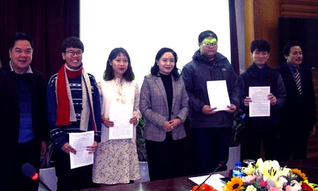 Thêm bốn sinh viên được trao Quyết định cử đi đào tạo, bồi dưỡng nguồn nhân lực văn hóa nghệ thuật ở nước ngoài - Hình 1