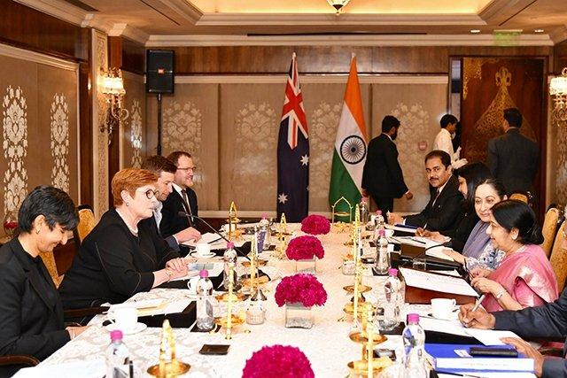 Ấn Độ và Ô-xtrây-li-a tăng cường kết nối - Hình 1