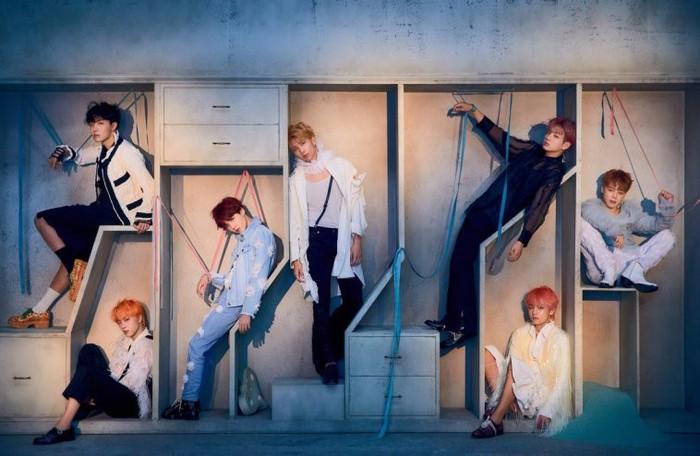 Nhóm nhạc nam Kpop nào có album bán chạy nhất 2018? - Hình 1