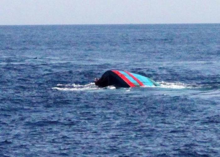 Tàu cá Khánh Hòa chìm ở khu vực biển Côn Đảo, 10 ngư dân mất tích - Hình 1