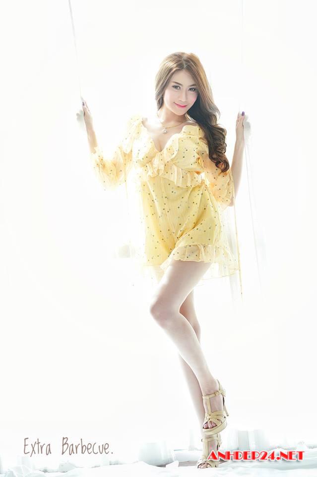 Đứng hình trước body cực gợi cảm cùng nước da trắng mịn của hotgirl Thái Lan - Hình 4
