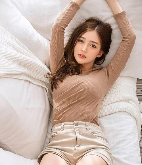 Vẻ đẹp Á - Âu hoàn mỹ của cô gái Thái khiến đàn ông mê mẩn - Hình 7