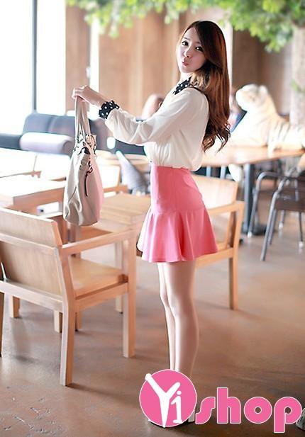 Áo sơ mi công sở cực đẹp cho bạn nữ năng động duyên dáng thời trang - Hình 13