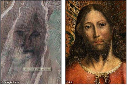 Google Maps phát hiện nhiều khuôn mặt khổng lồ giống hệt người thật - Hình 3