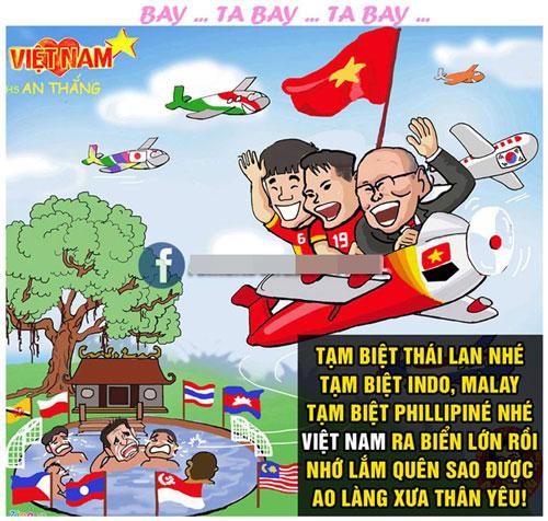 Ảnh chế: Việt Nam phải gánh cả Đông Nam Á tại Asian Cup - Hình 8