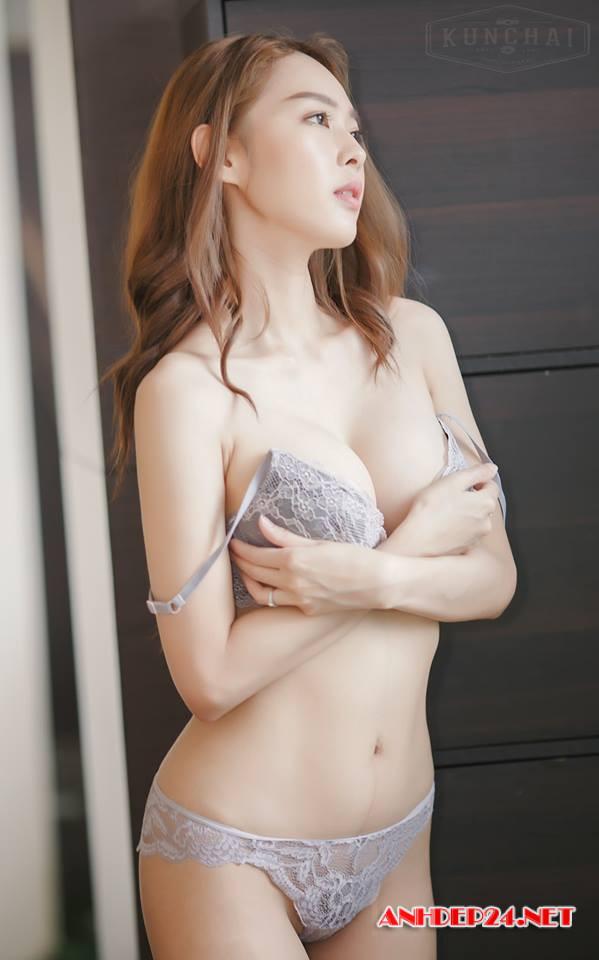 Vẻ đẹp mơn mởn của người mẫu bra Tharinton Donmuensri - Hình 16